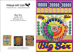 Big Six greeting card