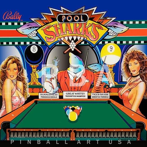 Pool Sharks 1990 Bally