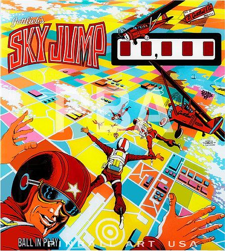 Sky Jump 1974 Gottlieb