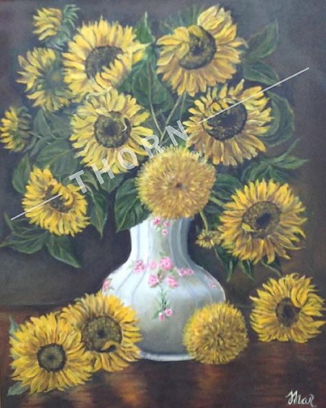 Sunflowers by Inna Makarichev