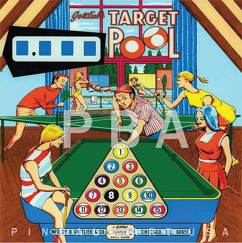 Target Pool 1969 Gottlieb