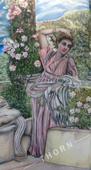 Replica of Alma Tadima by Inna Makarichev