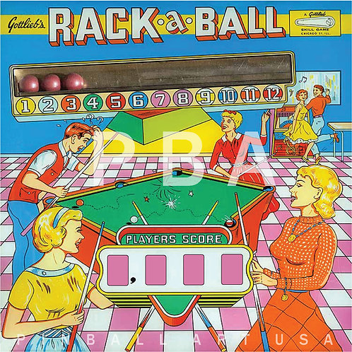 Rack-A-Ball    1962 Gottlieb