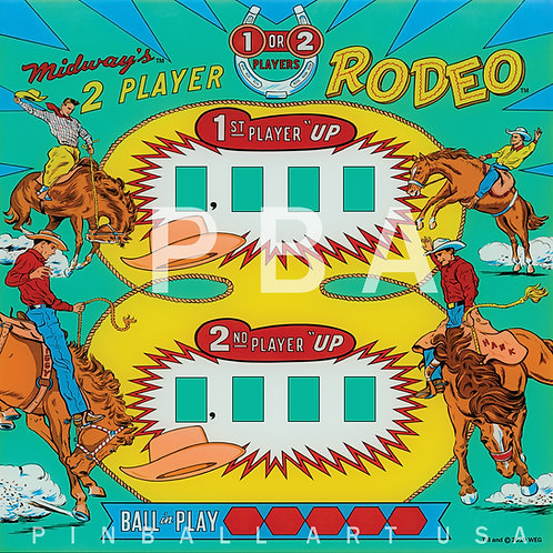 Rodeo 1964 Midway