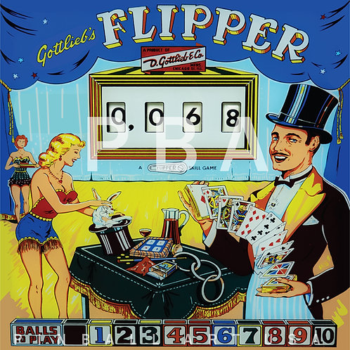 Flipper 1960 Gottlieb