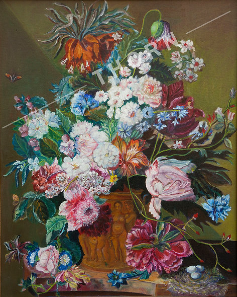 Flowers In the Pot by Inna Makarichev