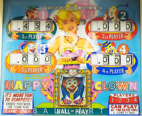 Happy Clown 1964 Gottlieb