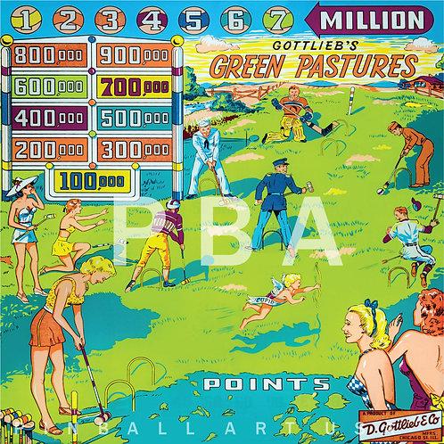 Green Pastures 1954 Gottlieb