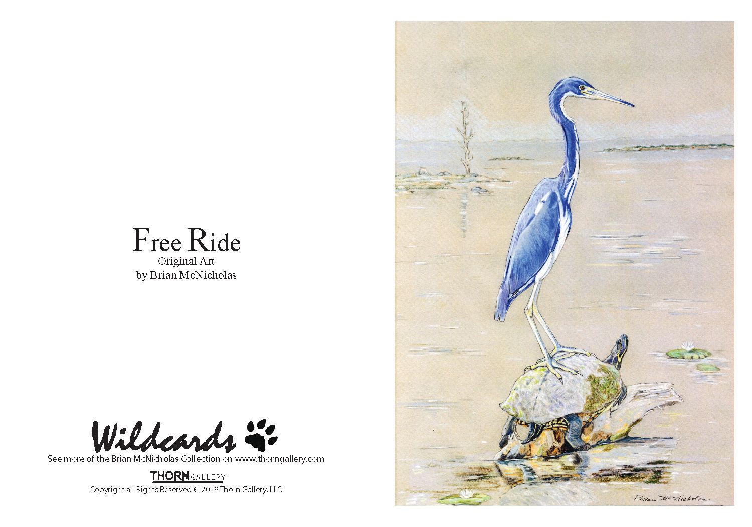 Free Ride Greeting Card