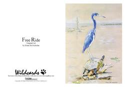 Free Ride Greeting Card