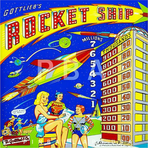 Rocket Ship 1958 Gottlieb