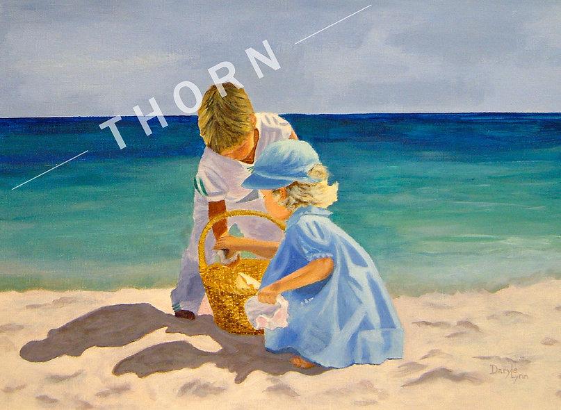 Beach Day Play by Daryle Lynn Cornelison