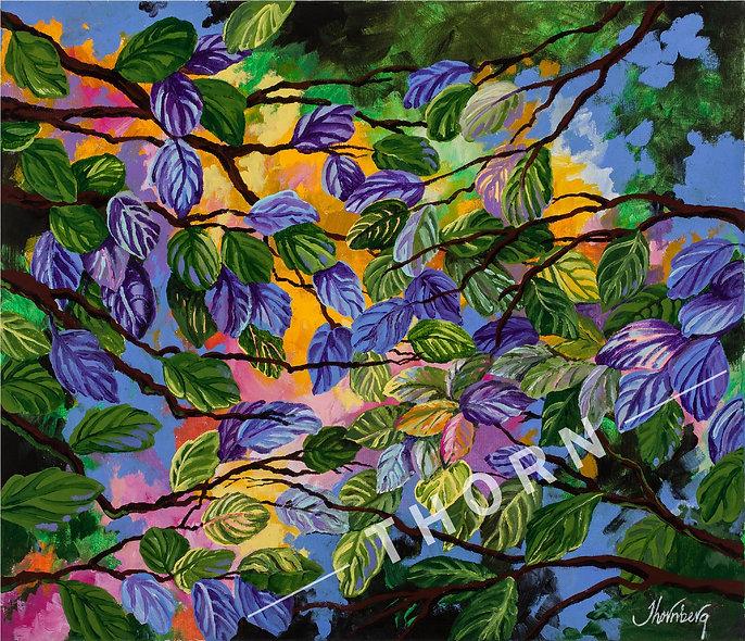Leaves by Karen Thornberg