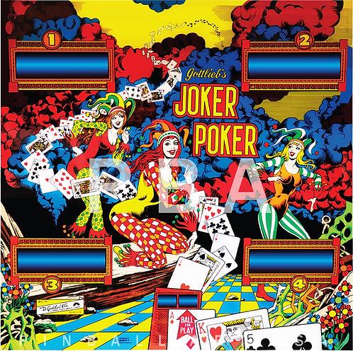 Joker Poker SS 1978 Gottlieb