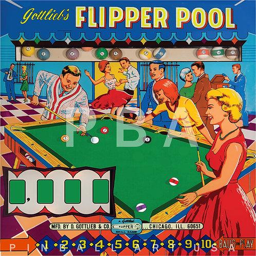 Flipper Pool 1965 Gottlieb