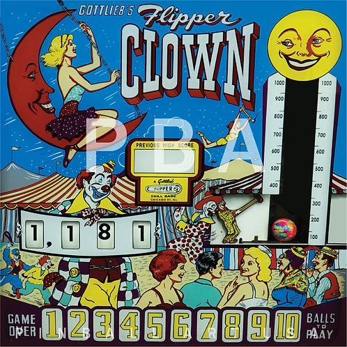 Flipper Clown 1962 Gottlieb