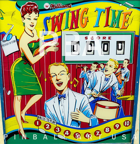 Swing Time 1963 Williams