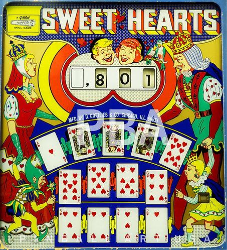 Sweet Hearts 1963 Gottlieb