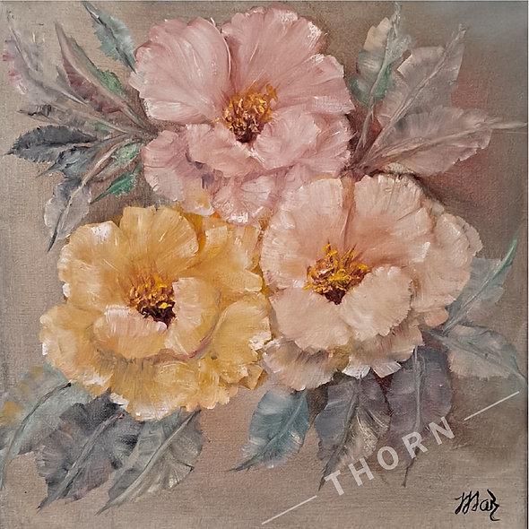 Beauty of Flowers by Inna Makarichev