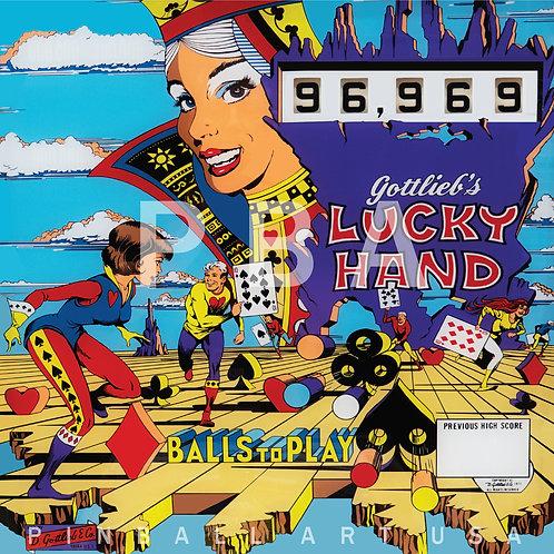 Lucky Hand 1977 Gottlieb