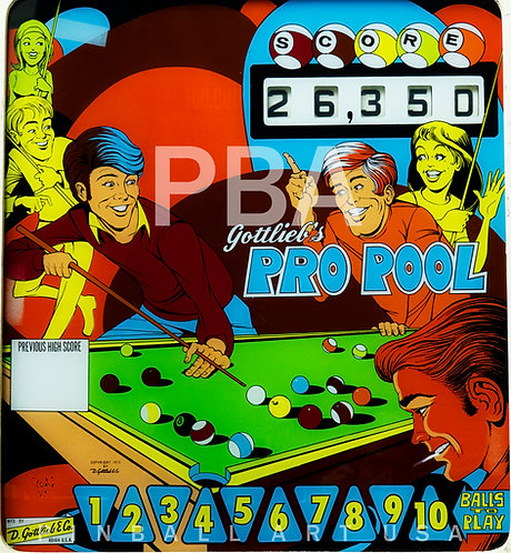 Pro Pool 1973 Gottlieb