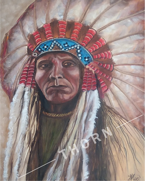 American Indian by Inna Makarichev