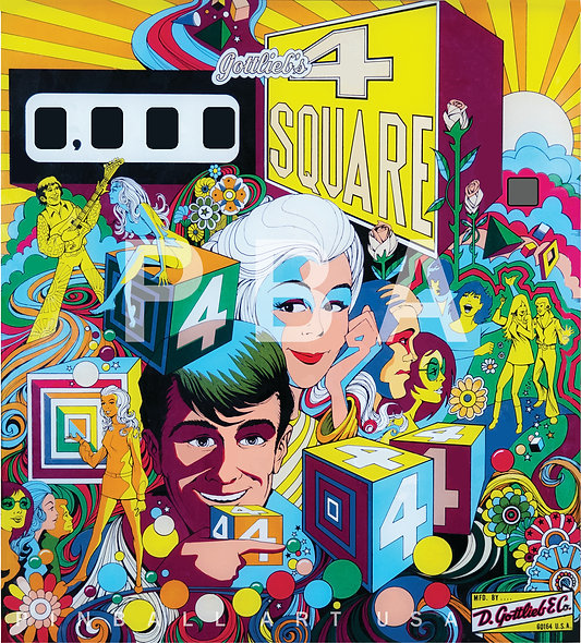 Gottlieb's 4 Square by Gordon Morison