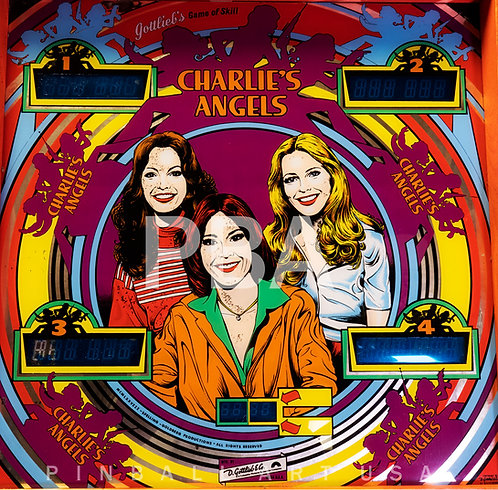 Charlie's Angels 1978 Gottlieb