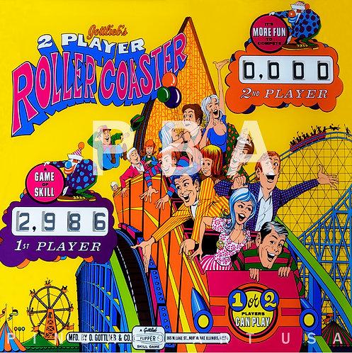 Roller Coaster 1971 Gottlieb