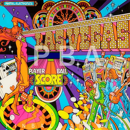 Las Vegas 1977 Mattel Electronics