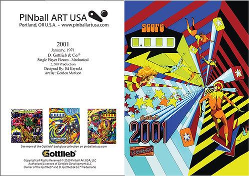 2001 Greeting Card