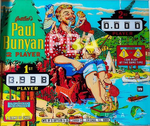 Paul Bunyan 1968 Gottlieb