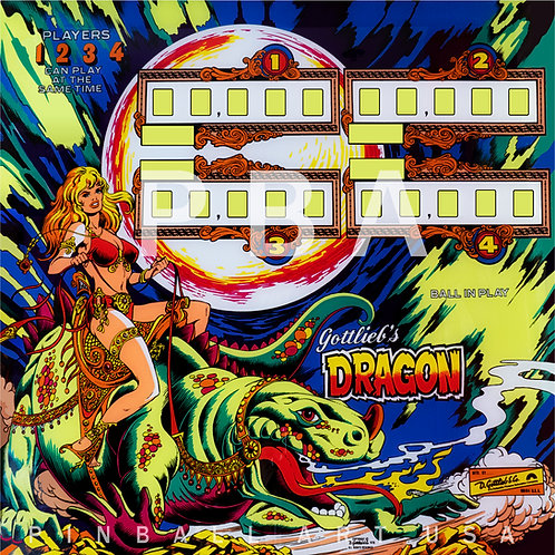 Dragon 1978 Gottlieb