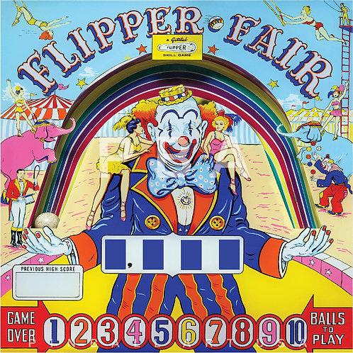 Flipper Fair 1961 Gottlieb