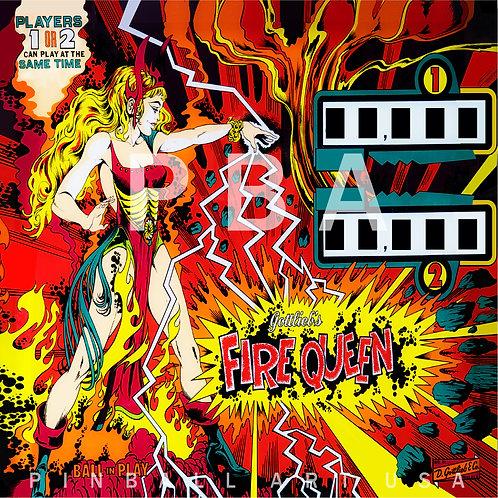 Fire Queen 1977 Gottlieb