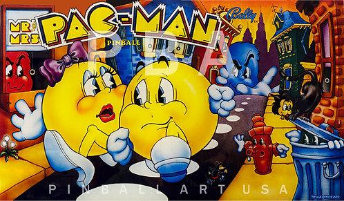 Mr. & Mrs. Pac Man 1982 Bally