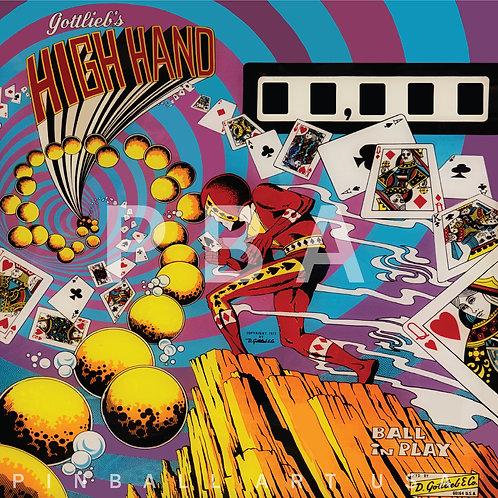 High Hand 1973 Gottlieb