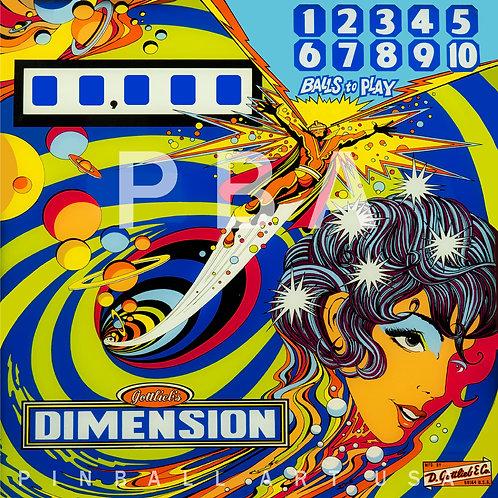 Dimension 1971 Gottlieb