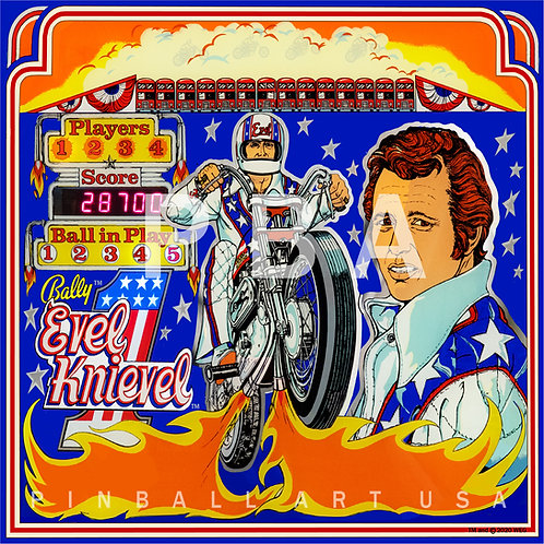 Evel Knievel HV 1978 Bally