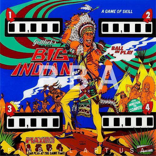 Big Indian 1974 Gottlieb