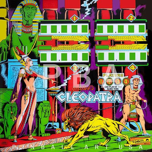 Cleopatra EM 1977 Gottlieb