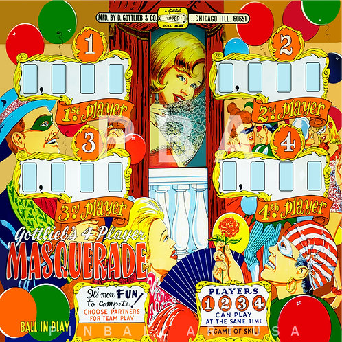 Masquerade 1966 Gottlieb