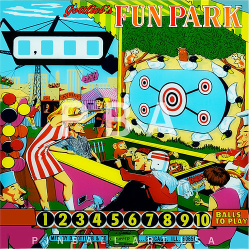 Fun Park 1968 Gottlieb