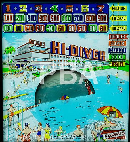 Hi-Diver 1959 Gottlieb