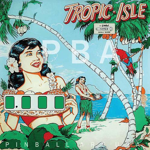 Tropic Isle    1962 Gottlieb