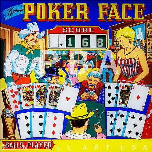 Poker Face 1963 Keeney