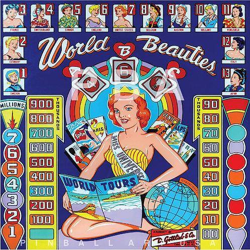 World Beauties 1960 Gottlieb