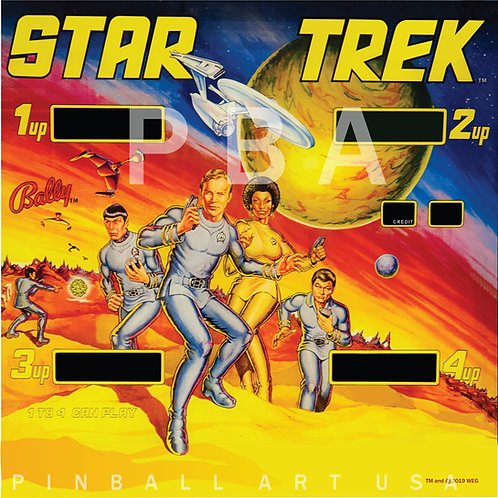 Star Trek 1979 Bally