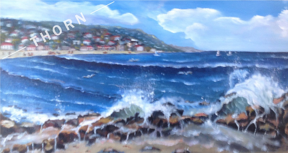 Ocean Rocks by Inna Makarichev