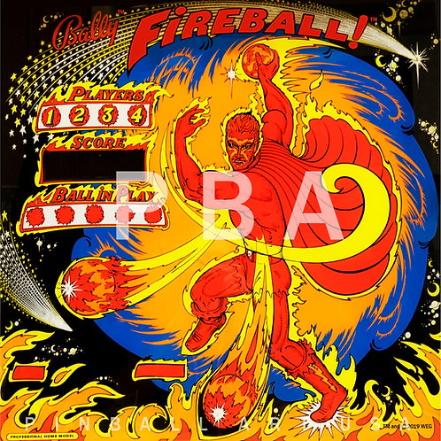Fireball! 1985 Bally